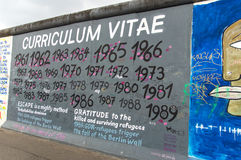 Berlin Wall Detail Stock Photos