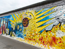 Berlin Wall Detail Royalty Free Stock Photography