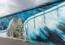 Berlin Wall Detail Royalty Free Stock Photo