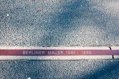Berlin Wall, Berlin, Deutschland Lizenzfreie Stockfotos