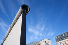 Berlin Wall, dividing the city during the cold war Royalty Free Stock Image