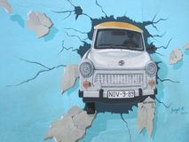 Berlin Wall - East Side Gallery Stock Images