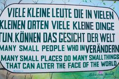 Berlin Wall East Side Gallery Mural royalty free stock photos