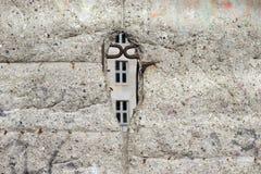 Berlin Wall Fragment Fotos de archivo libres de regalías