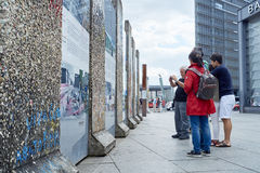 Berlin wall fragment Stock Photography