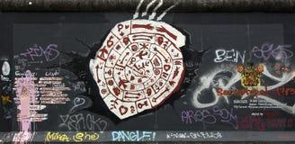 Berlin wall. Royalty Free Stock Photo