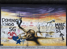 Berlin wall. Royalty Free Stock Photography