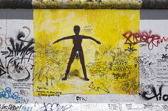 Berlin wall. Stock Photos