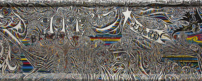 Berlin wall. Stock Image