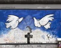 Berlin wall. Stock Photo