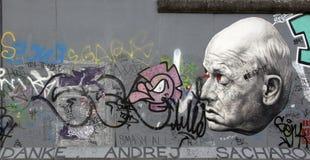 Berlin wall. Royalty Free Stock Photos
