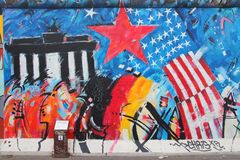 Berlin wall Stock Images