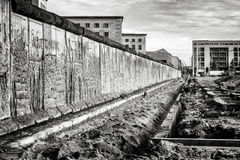 The Berlin wall Stock Photography