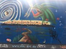 Berlin Wall stock image