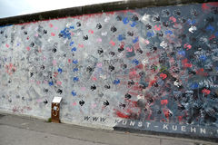 Berlin wall - hands Stock Photography