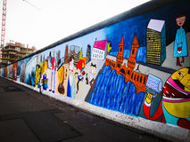 Berlin Wall Stock Image