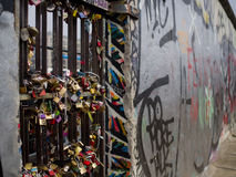 Berlin Wall Locks Imagem de Stock