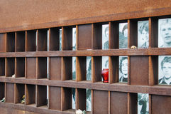 Berlin Wall Memorial Stockbilder
