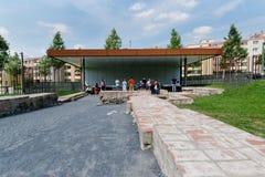 Berlin Wall Memorial fotografia stock libera da diritti