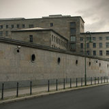 Berlin Wall memorial. Berlin, Germany. July 13, 2014 Royalty Free Stock Photography