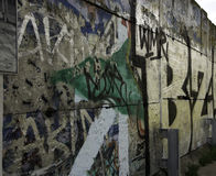 Remains of The Berlin Wall Royalty Free Stock Photography