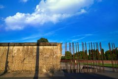 Berlin Wall memorial in Germany Stock Image