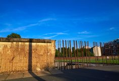 Berlin Wall memorial in Germany Royalty Free Stock Photography