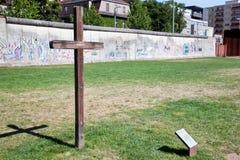 Berlin Wall Memorial Stock Photography