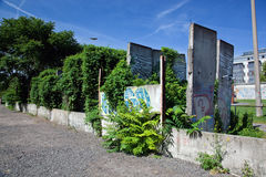 Berlin Wall Memorial Stock Image