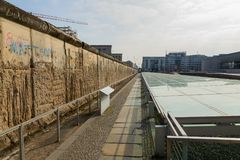 Berlin Wall Museum in Duitsland Royalty-vrije Stock Fotografie