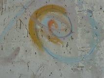 Berlin Wall, parte vicino all'ambasciata tedesca a Kiev, Ucraina Fotografia Stock
