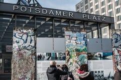 Berlin wall Royalty Free Stock Photos