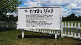 The Berlin Wall royalty free stock photos