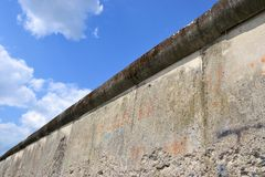 the Berlin Wall Stock Photo