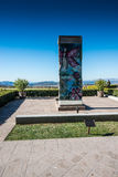Berlin Wall in Ronald Reagan Presidential Library Royalty Free Stock Photography