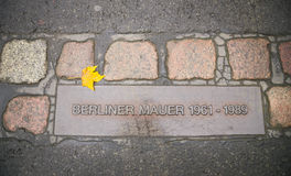 Berlin wall sign, Germany Stock Photography