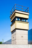 Berlin wall watch tower Royalty Free Stock Photos