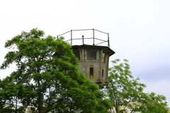 Berlin Wall Watchtowers Fotografia Stock Libera da Diritti