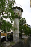 Berlin Wall Watchtowers Royaltyfria Bilder