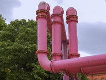 Berlin water pipes Royalty Free Stock Image