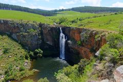 Berlin Waterfall, South Africa Stock Photos