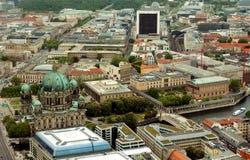 berlin Widok od telewizyjny wierza obraz stock
