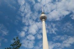 Berlin wierza Aleksander miejsce, maj 2017/ Obrazy Stock
