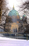 Berlin in Winter Royalty Free Stock Photo