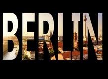 Berlin written Stock Photography
