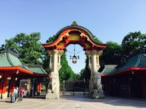 Berlin Zoological Garden imagens de stock