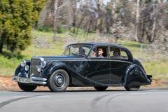 Berlina 1950 di Jaguar MKV Fotografia Stock