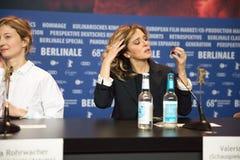 Berlinale的意大利女演员薇拉莉・葛琳诺2018年 免版税库存照片