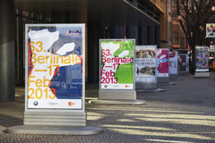 Berlinale 2013年 免版税库存照片