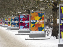 Berlinale-Adv Stockfotografie